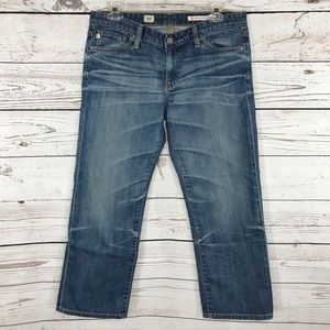 AG Adriano Goldschmied Capris Crop Jeans Low-Rise